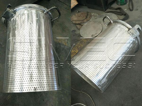 glittering-material-barrel